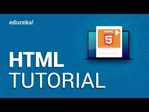 HTML Tutorial For Beginners | Learn HTML In 30 Minutes | Designing A Web Page Using HTML | Edureka