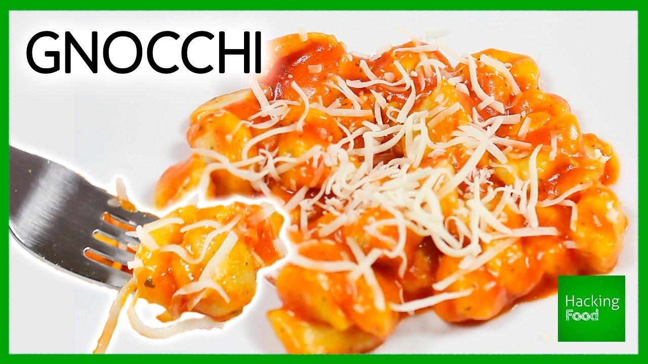 Receta fcil de oquis de patata deliciosos cocina italiana en potatoes gnocchi easy recipe delicious italian food in hacking food forumfinder Gallery