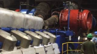 Wartsila 18V46 engine start up
