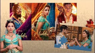 Disney Aladdin Live Action Jigsaw Puzzle - Fun Games for kids