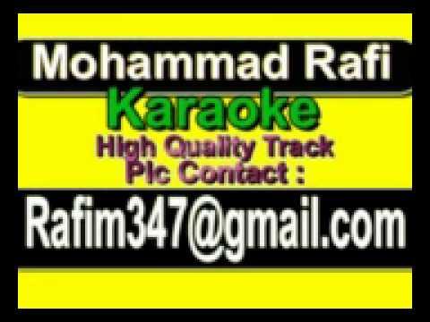 O Mere Sona Re Karaoke Teesri Manzil {1966} Rafi