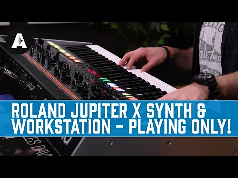 Roland Jupiter X Synth & Workstation - Playing Only!