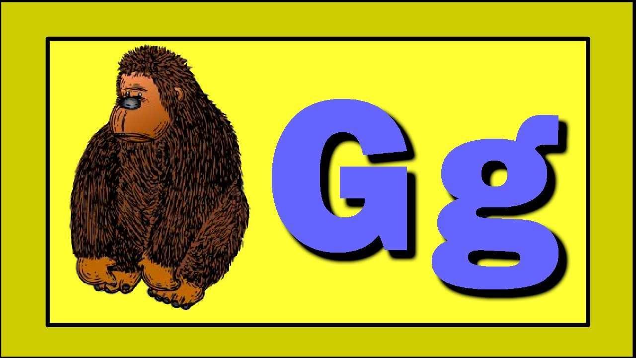 Letter Words Starting In G