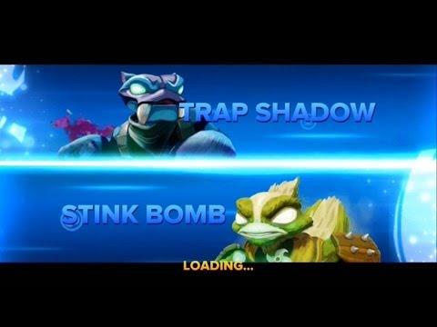 SKYLANDERS SWAP FORCE TRAP SHADOW VS STINK BOMB