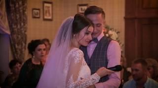 Подарок жениху на свадьбе! Трогательная песня от невесты...Илья и Светлана 20.08.2016