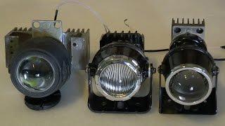 Светодиодные противотуманные фары большой мощности (часть1)(Реально сильный рабочий свет для любого авто. 2 х 10вт светодиодных линзовых ПТФ - обеспечивают комфортное..., 2013-10-21T08:03:03.000Z)
