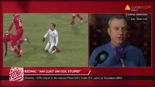 Dinamo - CFR Cluj 0-3 ce spune Mircea Rednic / Fotbal Look