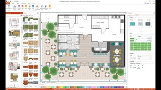 How to Draw a Restaurant Floor Plan
