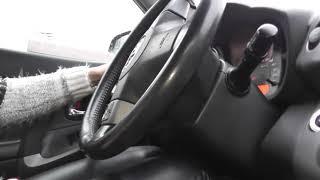 Опять за руль после  наших уроков автовождения.Самый интересный и любимый ученик!!!