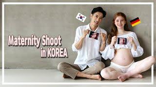SUB) 국제커플 ㅣㅣ만삭 촬영하러 서울에서 천안까지 …