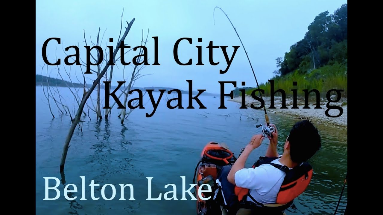 Kayak bass fishing tournament belton lake texas cckf for Lake belton fishing report