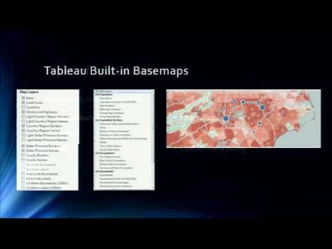 Visualizing Spatial Data With Tableau