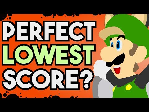 """Is it Possible to Reach the """"Perfect"""" Lowest Score in New Super Luigi U?"""