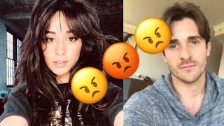 Camila Cabello Caught arguing with Matthew Hussey