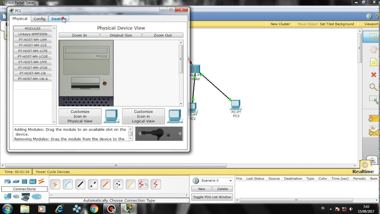 Point to point connection | ccna tutorial-1 | cisco packet tracer.
