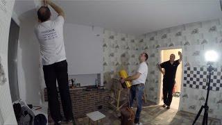 Частный дом - ремонт день #103 Натяжные потолки проверка УЗО соревнования шуруповёртов(, 2016-11-21T17:08:05.000Z)