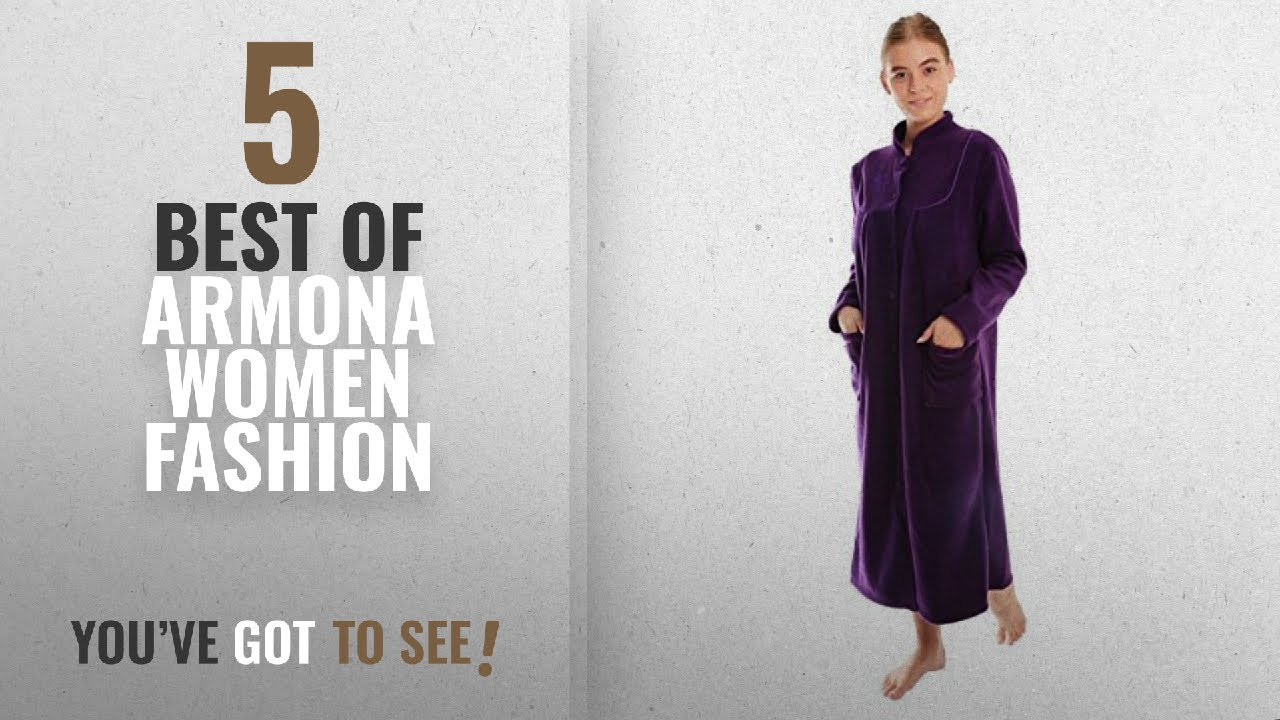 Armona Women Fashion [2018 Best Sellers]: ladies fleece dressing ...