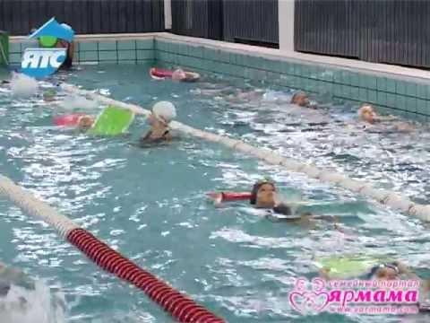Выбираем вид спорта для девочки, синхронное плавание