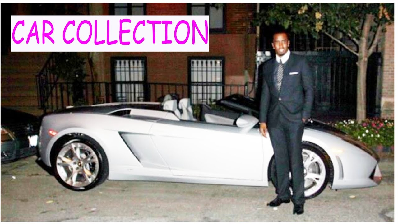 Sean Combs P Diddy Car Collection Youtube