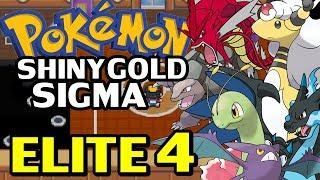 Pokémon Shiny Gold Sigma (Detonado - Parte 24) - ELITE 4