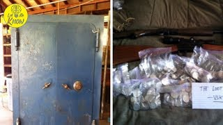 Grandson Finds Priceless Coins And Guns In Safe While Cleaning Grandma's Old House