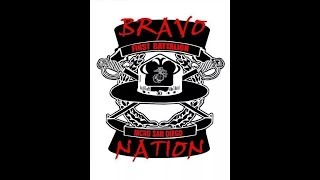 Marine Corps Drill. MCRD San Diego. Bravo Company
