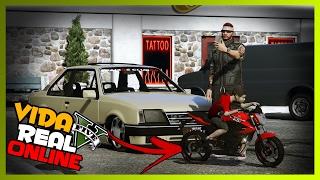 🔴 GTA V : VIDA REAL ONLINE - COMPREI UMA XJ6 PRO CHAPINHA!! #98
