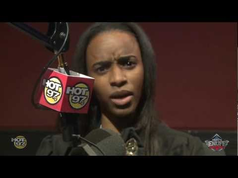 Angel Haze talks with DJ Enuff and spits a Freetsyle