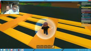 Neo & Tia playing ROBLOX amazing obby