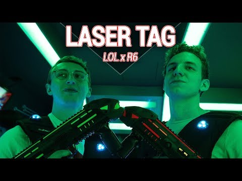 Cloud9 Vlog | Laser Tag with C9's League and Rainbow6 teams!