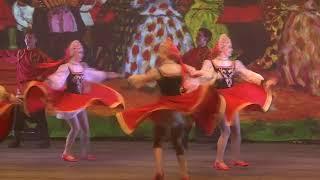 """МГА театр танца """"Гжель"""" - хореографическая композиция """"Барыня"""""""