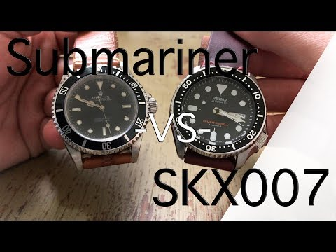 Rolex Submariner -VS- Seiko SKX007 - The King of Divers -VS- The Everyman Diver - Which is Better?