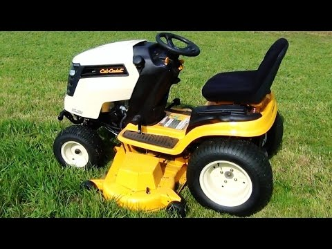 Cub Cadet Riding Lawnmower Review