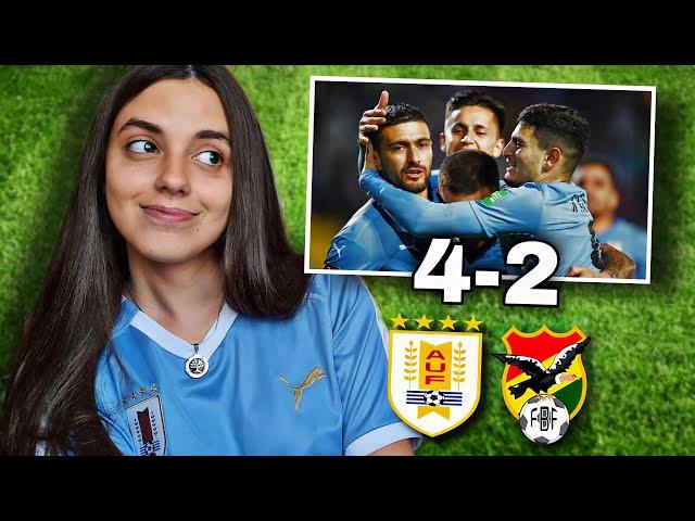 URUGUAY vs BOLIVIA   Reacción de HINCHA URUGUAYA   Eliminatorias Qatar 2022
