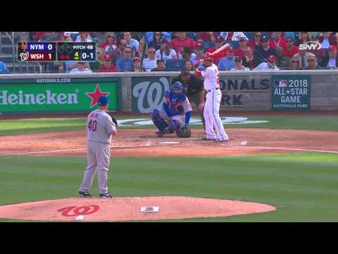 New York Mets vs Washington Nationals April 6, 2015