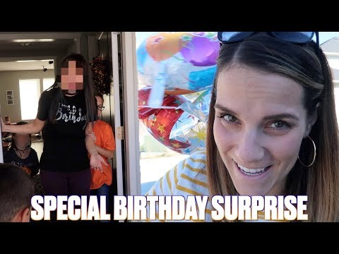 SUGAR SWEET BIRTHDAY SURPRISE  EMOTIONAL GIFT GIVING