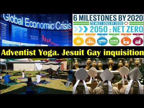 Jesuit Gay Inquisition Orgy. SDA Churches Holy Yoga. Canadian Baby Gender Unknown. Financial Crisis