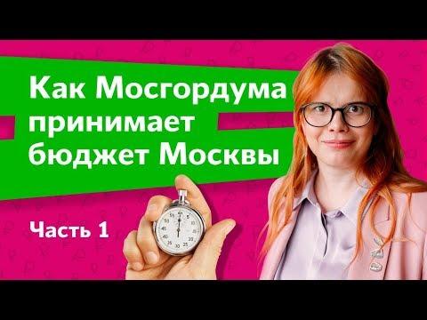 Как Мосгордума принимает бюджет Москвы. Часть 1. Дарья Беседина.