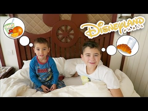 VLOG - MORNING ROUTINE à DISNEYLAND 🍞
