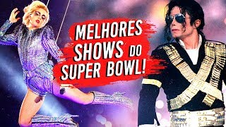 7 Melhores SHOWS do SUPER BOWL  🎤🎶🏈