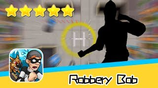 Robbery Bob™ High Rise Level 1-3 Walkthrough New Game Plus Recommend index five stars