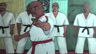Bruce Lee animated fight scene.wmv