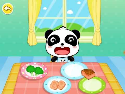 Малыш Панда Я люблю Кушать # 1