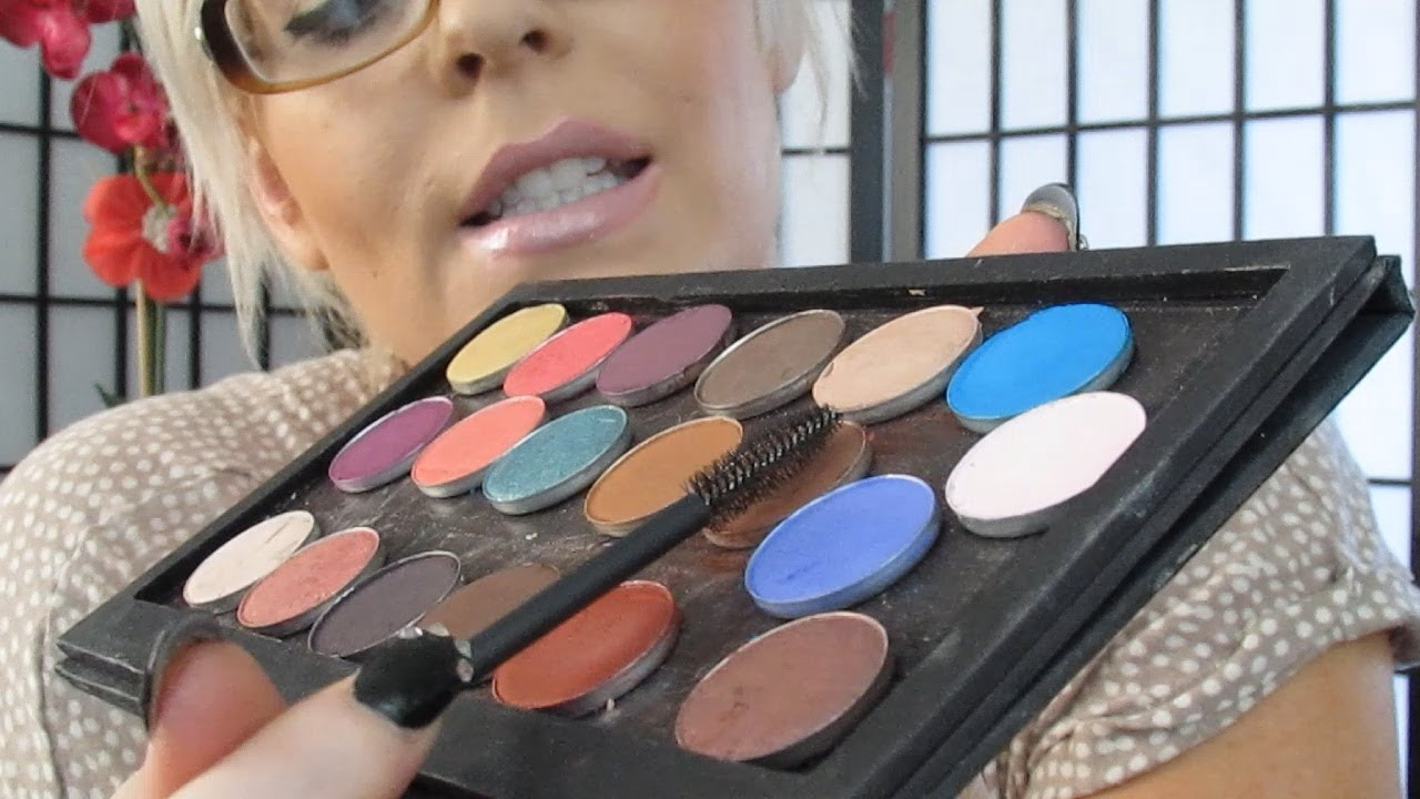 Two Ways On How To Fix A Wet Eye Shadow Or Powder And Get Oil Out Too!
