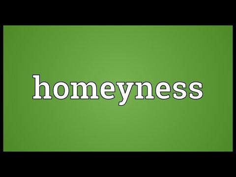 Header of homeyness