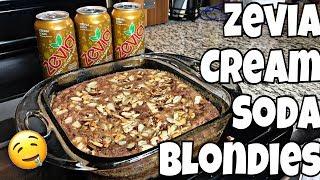 Zevia Keto Cream Soda Blondies | Easy Keto Dessert!