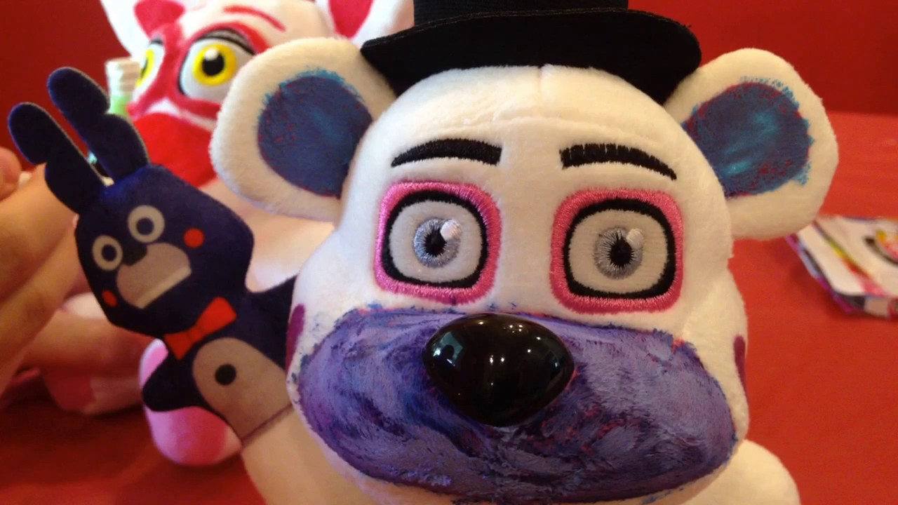 How To Customize Funtime Freddy Plush Amp Funtime Foxy Plush