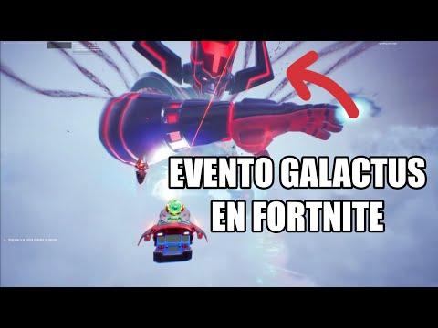 Evento Galactus En Fortnite (Repetición) El devorador de mundos, Español Latino
