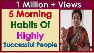 5 MORNING HABITS OF HIGHLY SUCCESSFUL PEOPLE thumbnail
