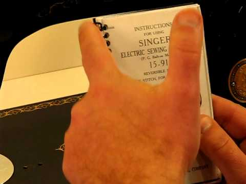 The Incredible Singer 15-91 - Introduction and Tutorial..!!
